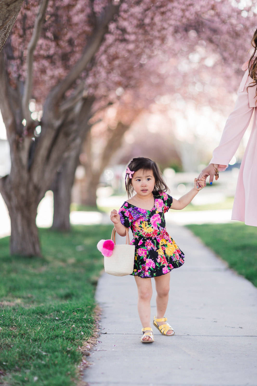 Little Minis floral dress