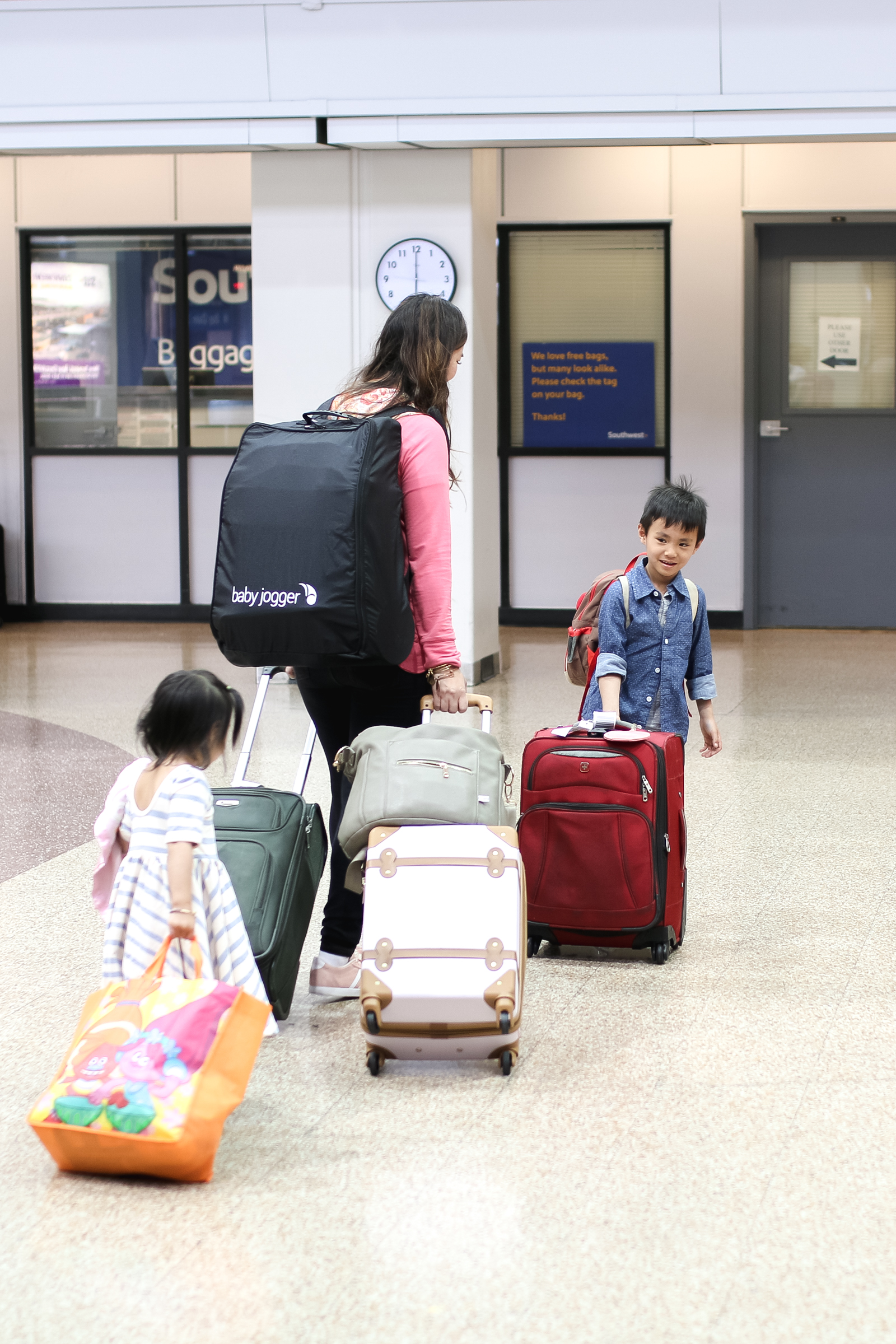 Travel Hacks with Baby Jogger