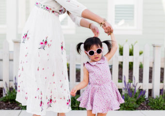 Mommy and Me Outfits – Floral Summer Dresses + Linkup!