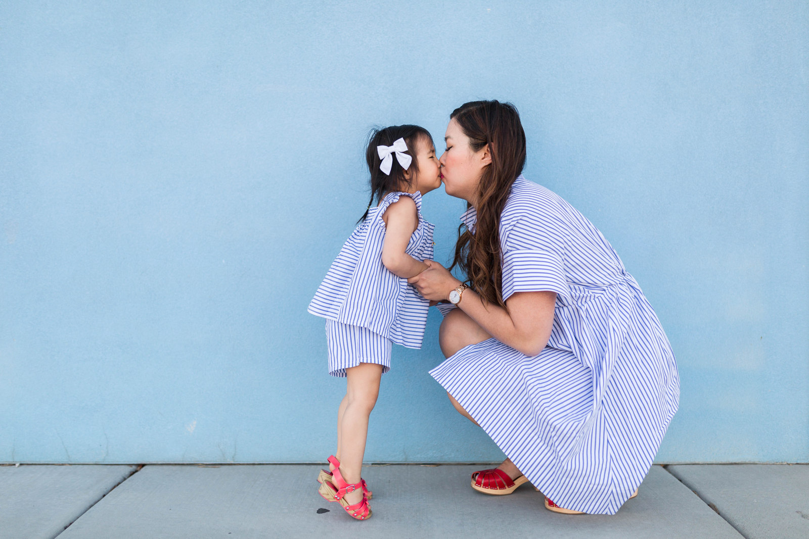 Mommy and Me Victoria Beckham for Target Striped Outfits