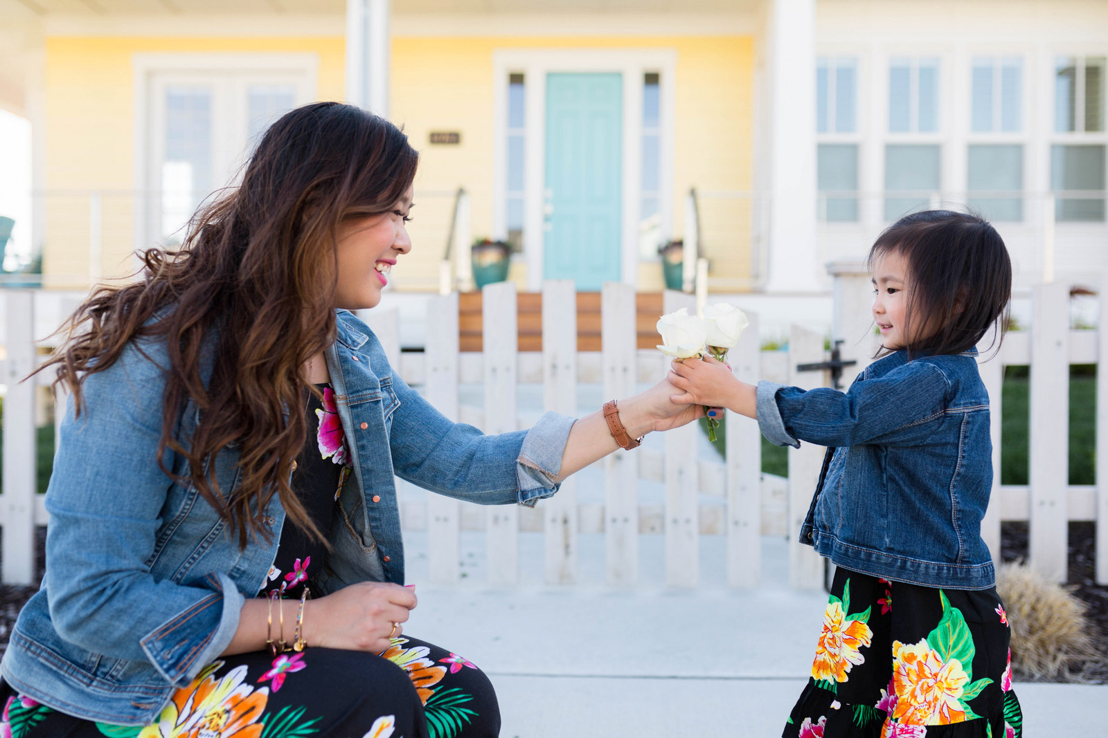 Mommy and Me Old Navy Outfits: Havana Prep by fashion blogger Sandy A La Mode