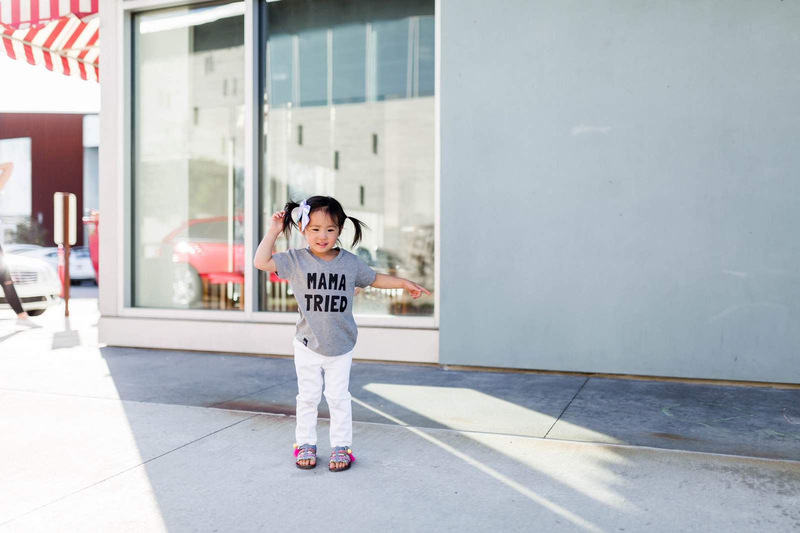 Being A Mother: 5 Things They Never Told You About Toddler Years by fashion blogger Sandy A La Mode