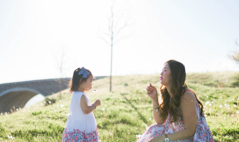 Mommy and Me Outfits: Summertime Florals + Linkup!