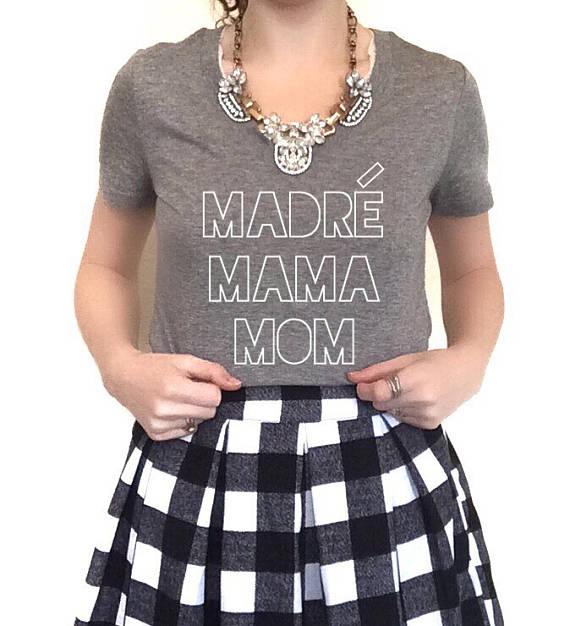 dc39b32f Madre Mama Mom – When you want to make it known you're a mama, so to please  excuse any mom brain.