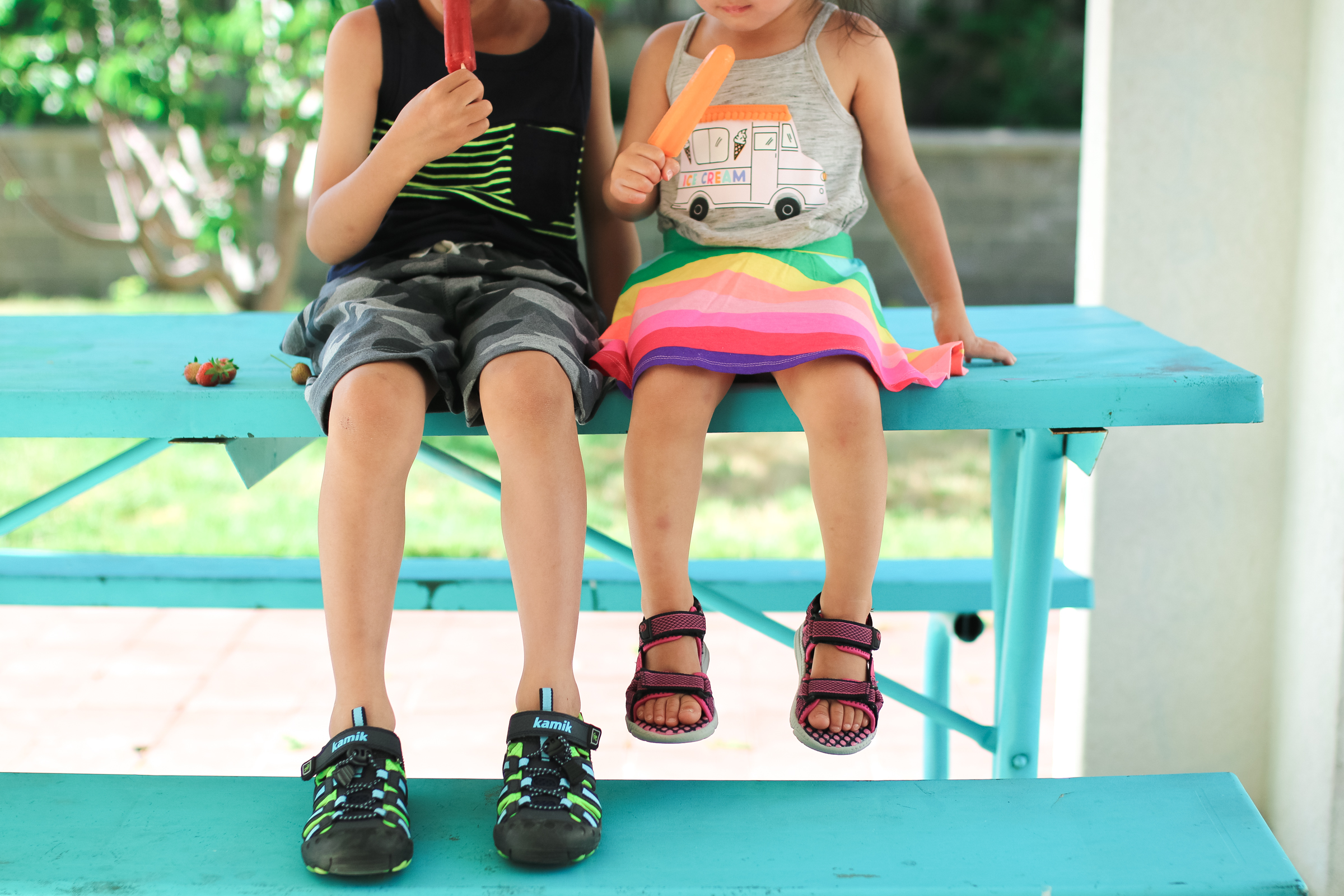 Sport Sandals for Active Boys and Girls by Utah fashion blogger Sandy A La Mode