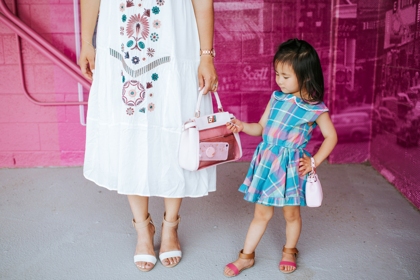 Summer Sandals For Mamas and Minis by Utah fashion blogger Sandy A La Mode