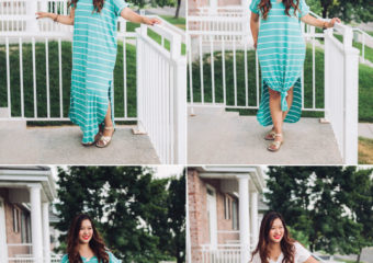 4 Ways To Style A Striped Maxi Dress