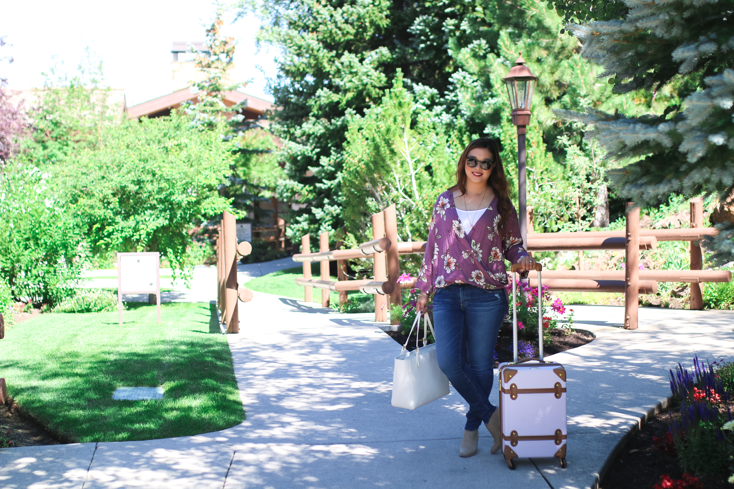 A relaxing Park City Resort staycation at Stein Eriksen Lodge by popular Utah blogger Sandy A La Mode