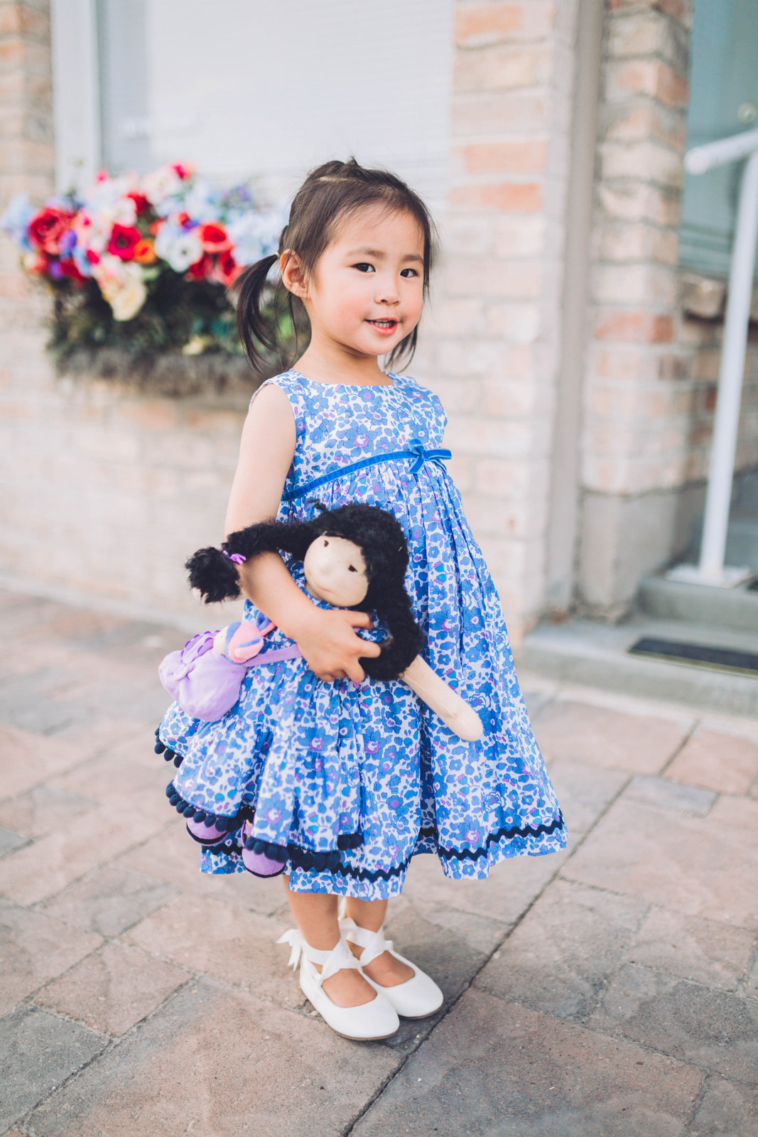 Matching Girl and Doll Outfits by Utah blogger SandyALaMode