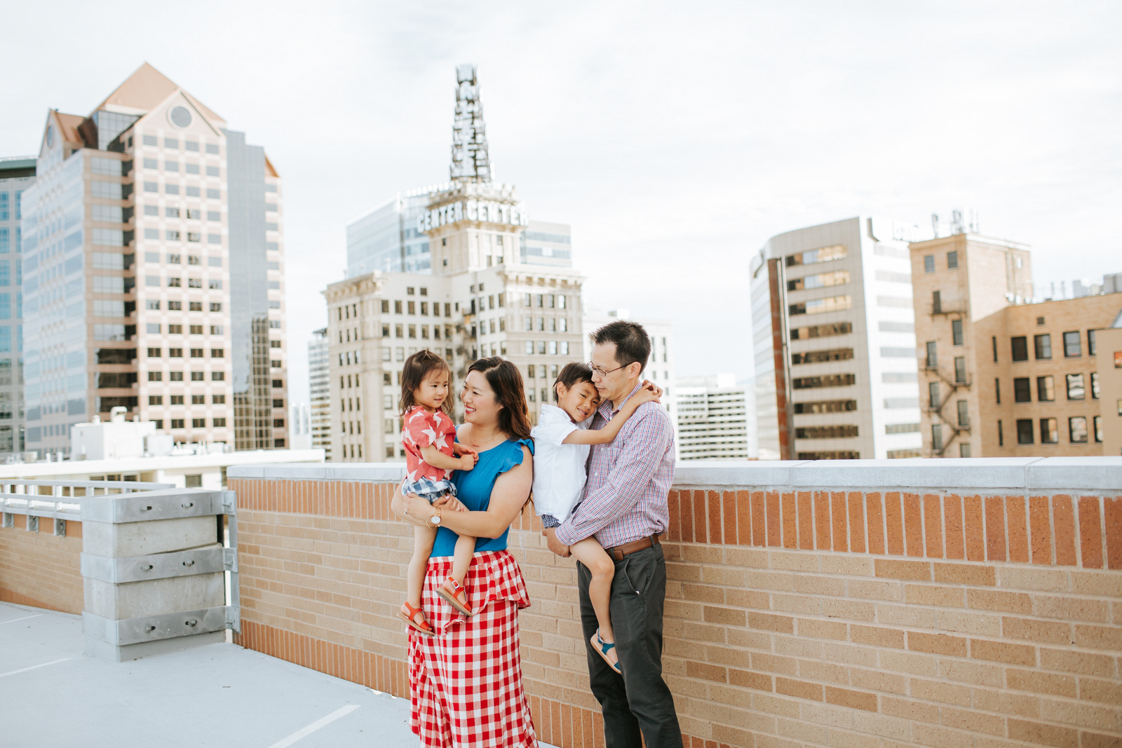Happy 4th of July! - Red, White, and Blue Patriotic Outfits for the Whole Family by Utah fashion blogger Sandy A La Mode