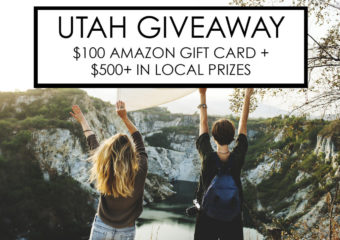 Utah Locals Giveaway – $100 Amazon + $500 In Local Prizes!