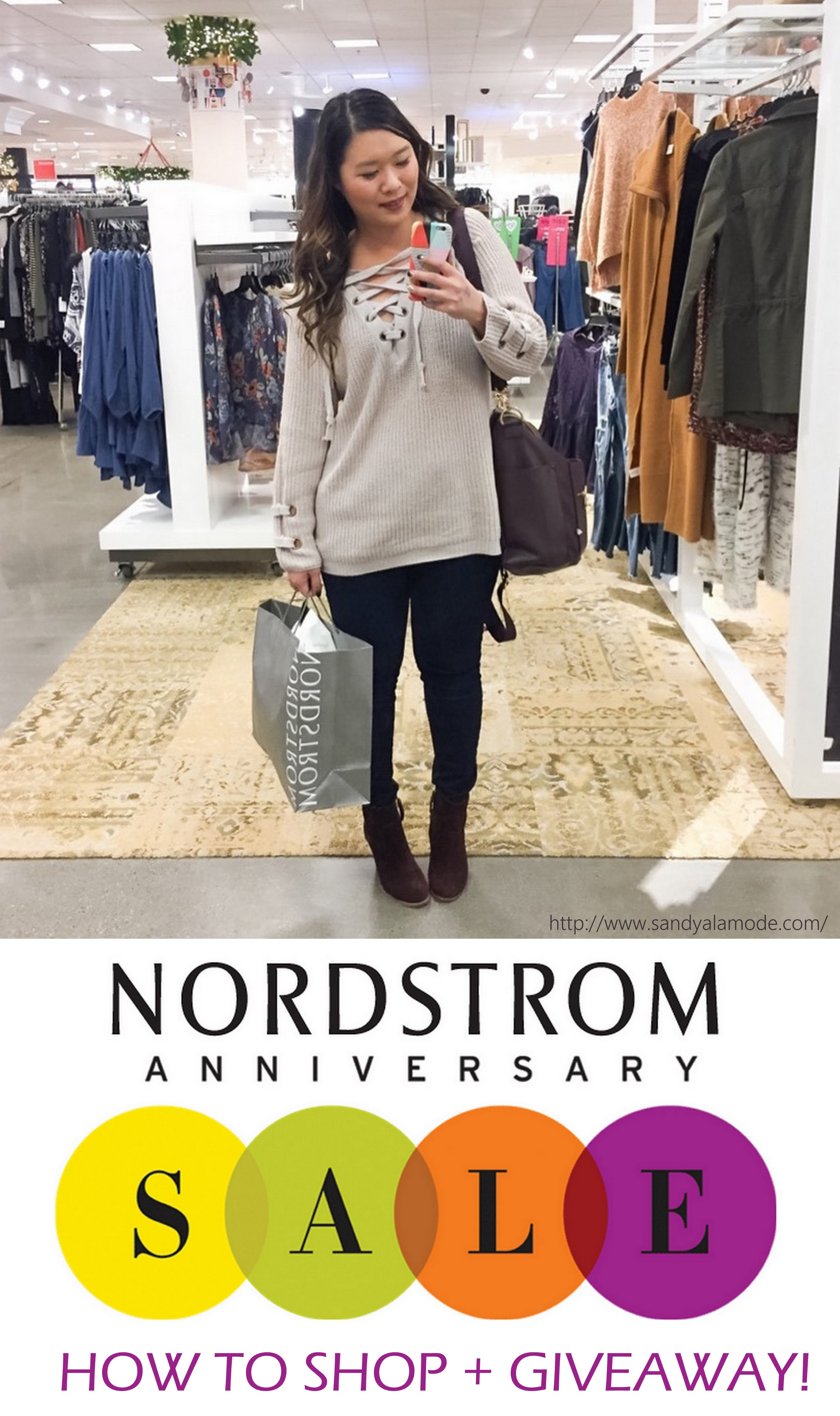 Get Ready for the Nordstrom Anniversary Sale + GIVEAWAY by Utah blogger Sandy A La Mode