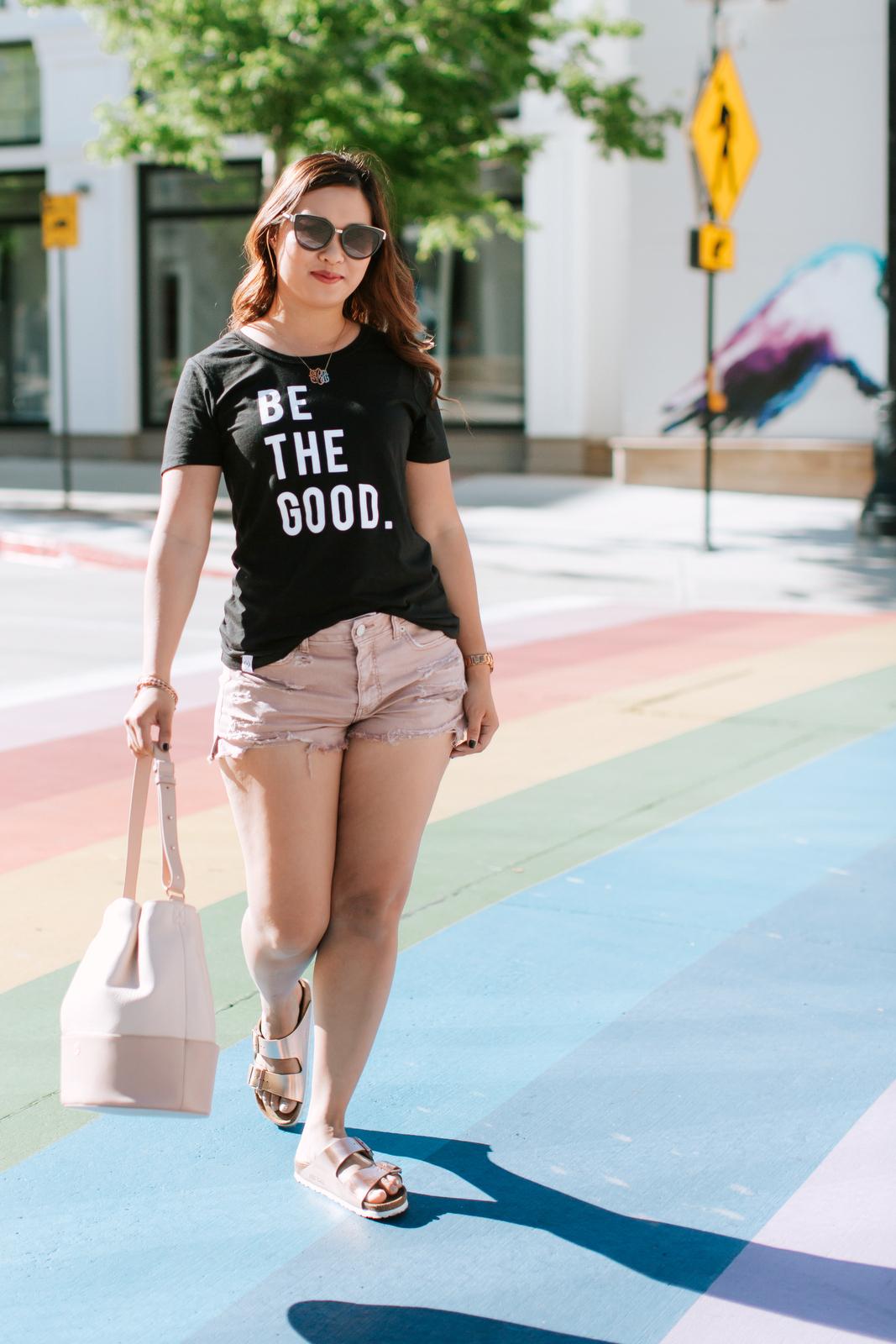 Why I Choose To Be The Good by Utah fashion blogger SandyALaMode