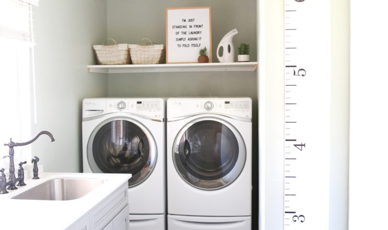 Our New Home Big Reveal: Functional and Spacious Laundry Room