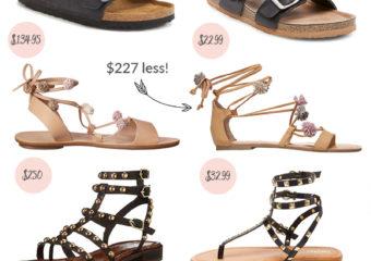 Splurge or Save: Summer Sandal Shoe Trends