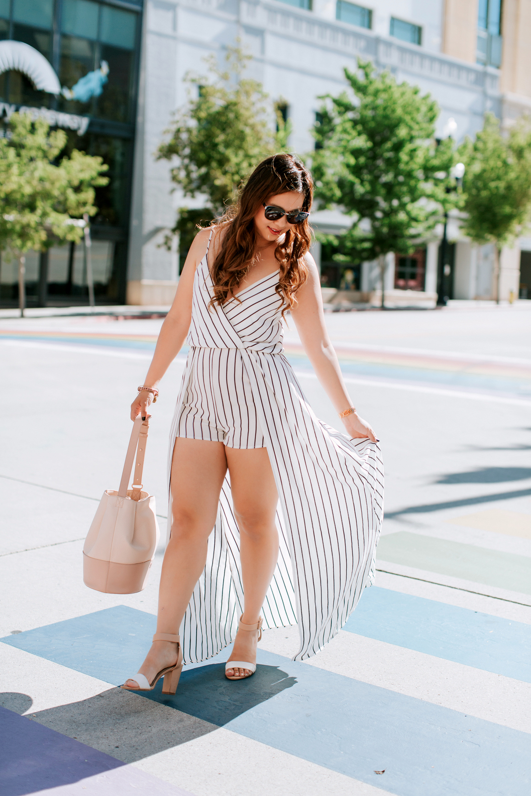 2 Ways To Style Black and White Stripes by Utah fashion blogger Sandy A La Mode