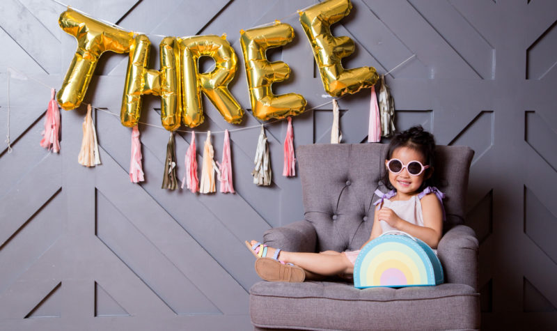 Vivian Turns Three – Her 3 Year Old Pictures