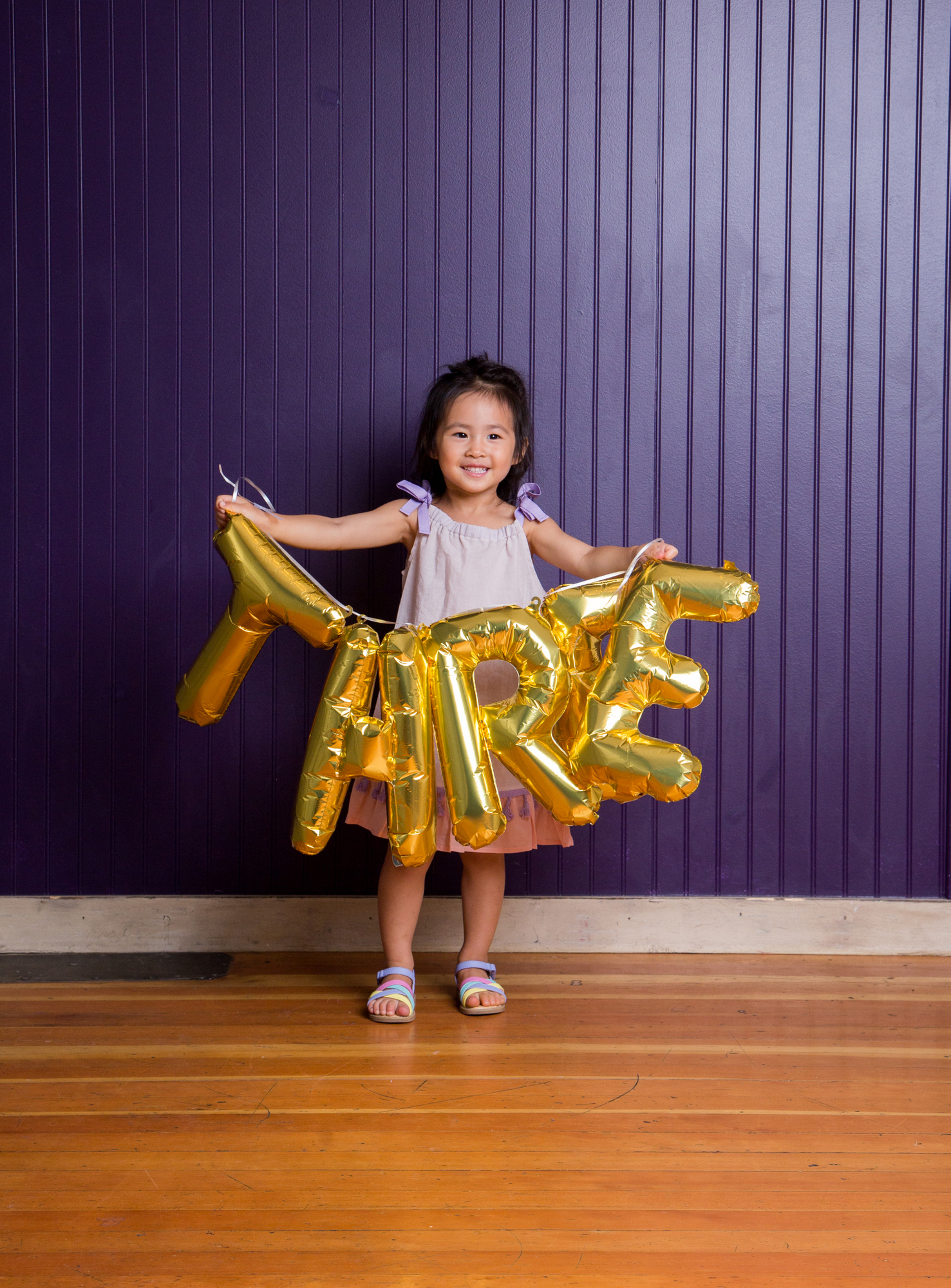Vivian Turns Three - Her 3 year old Pictures by Utah mom blogger Sandy A La Mode