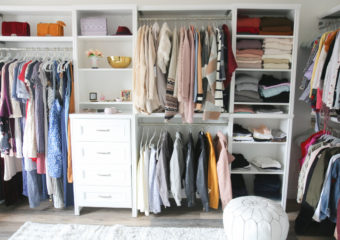 Our New Home Big Reveal: Closet / Office Room Ideas