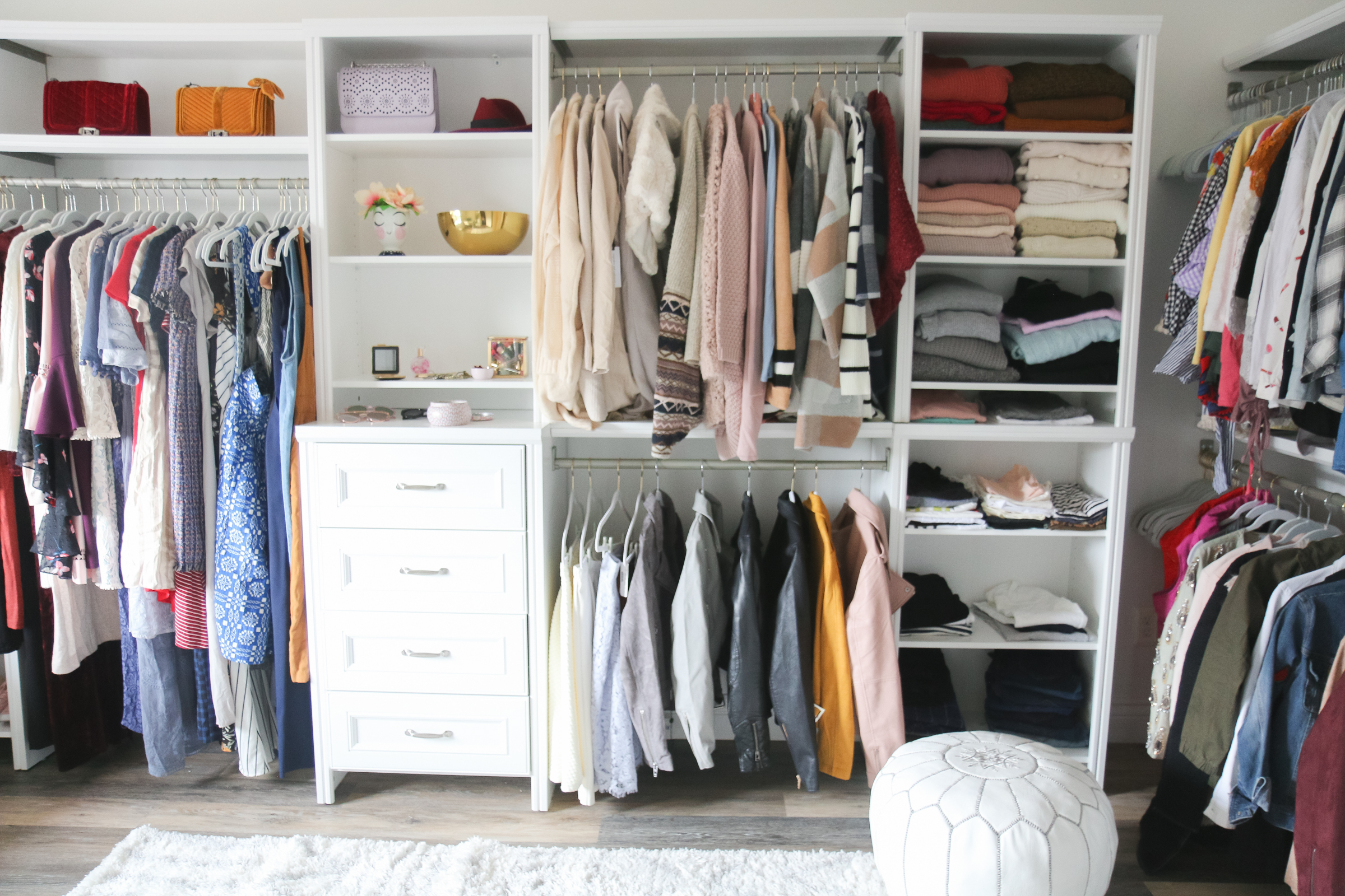 Our New Home Big Reveal: Closet / Office Room Ideas by Utah blogger Sandy A La Mode