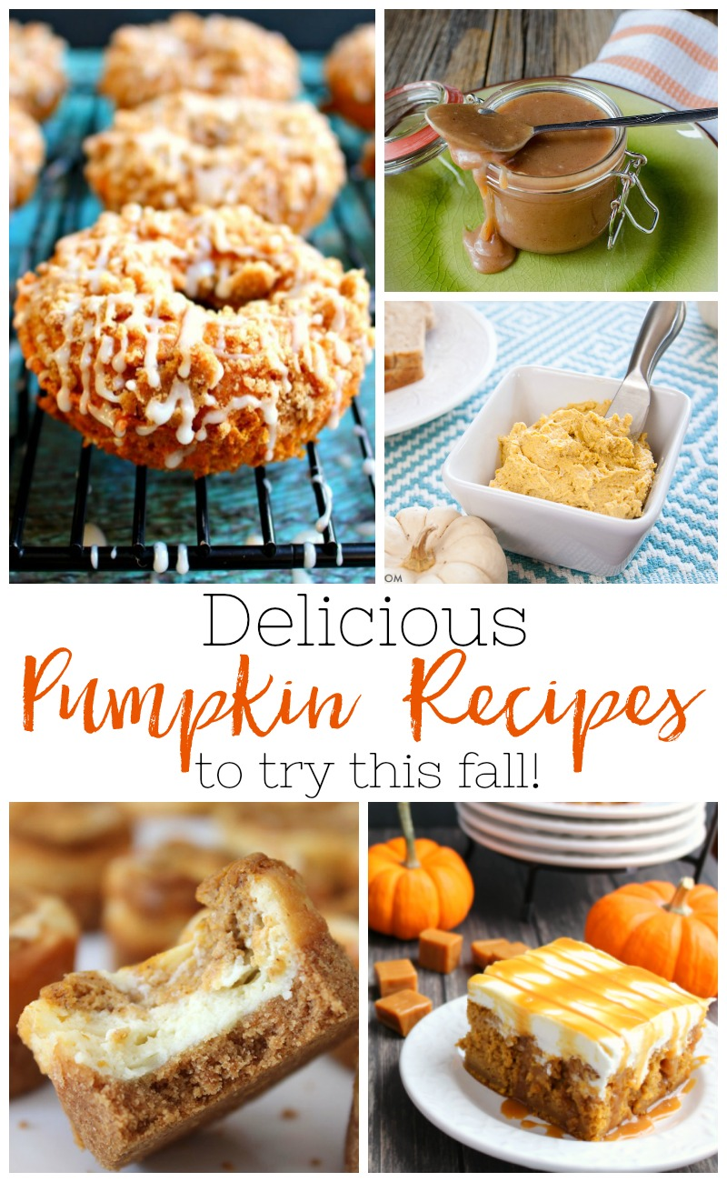 11 Delicious Pumpkin Recipes To Try This Fall by Utah lifestyle blogger Sandy A La Mode