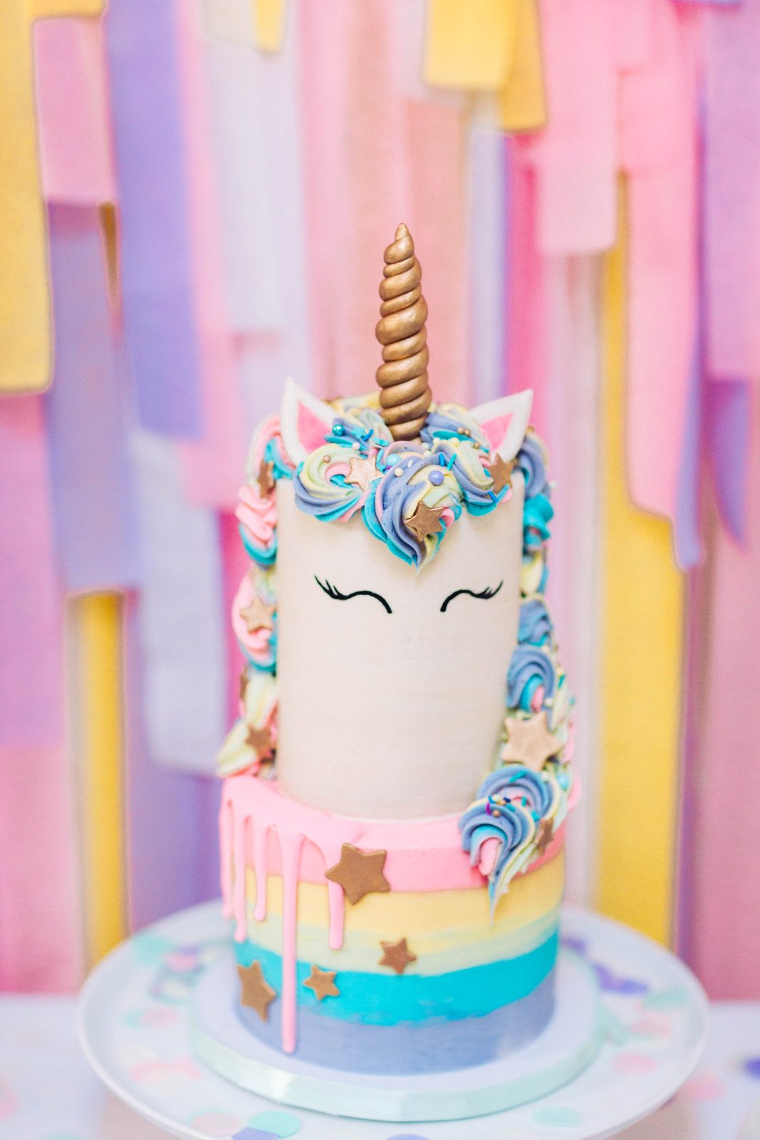 A Magical Unicorn Birthday Party - Vivian's 3rd Birthday! by Utah mom blogger Sandy A La Mode