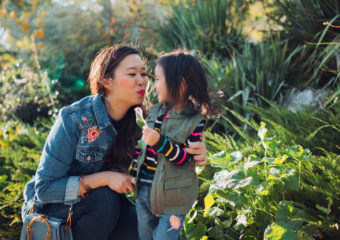 Mommy and Me Outfits: Embroidered Denim Old Navy Outdoor Folk Collection + Linkup!