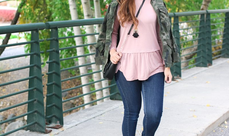 11 Trendy & Chic Camo Clothing For Fall + Linkup!
