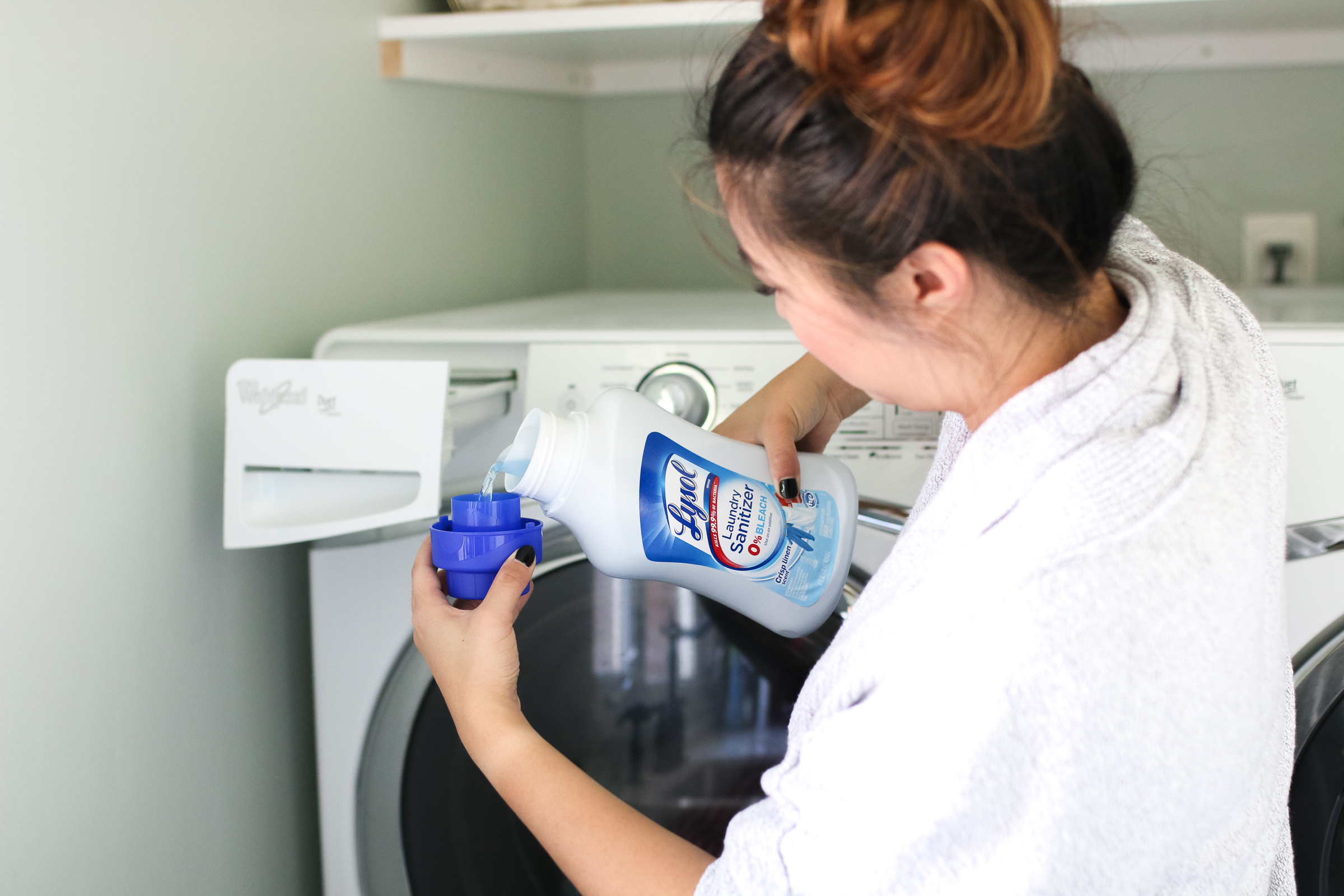 The Laundry Sanitizer Every Mom Needs by Utah mom blogger Sandy A La Mode