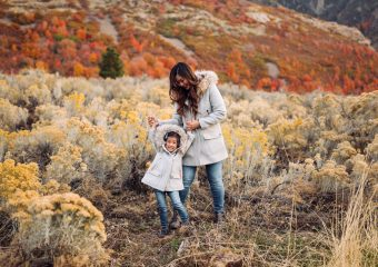 Mommy and Me Outfits: Chateau Parka