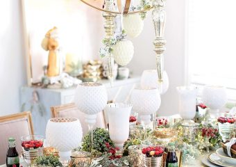 Our New Home Big Reveal: Dining Room Holiday Decor Ideas
