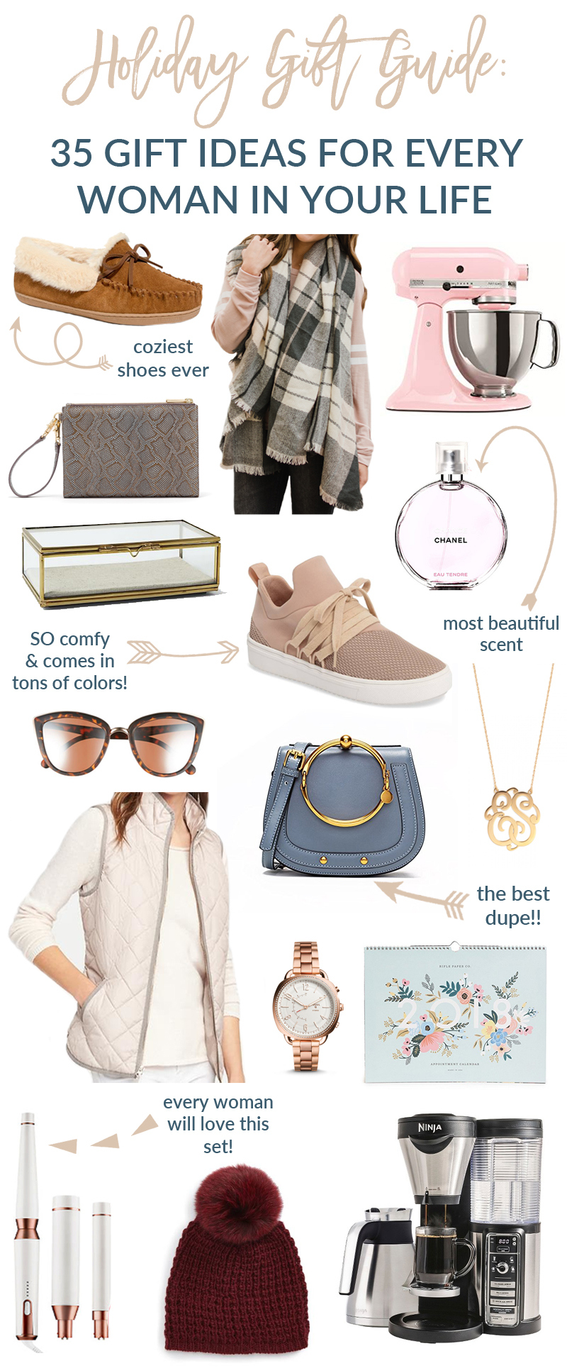 Holiday Gift Guide: 35 Gift Ideas For Every Woman In Your Life by Utah style blogger Sandy A La Mode