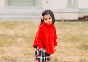 Little Girls Holiday Outfit