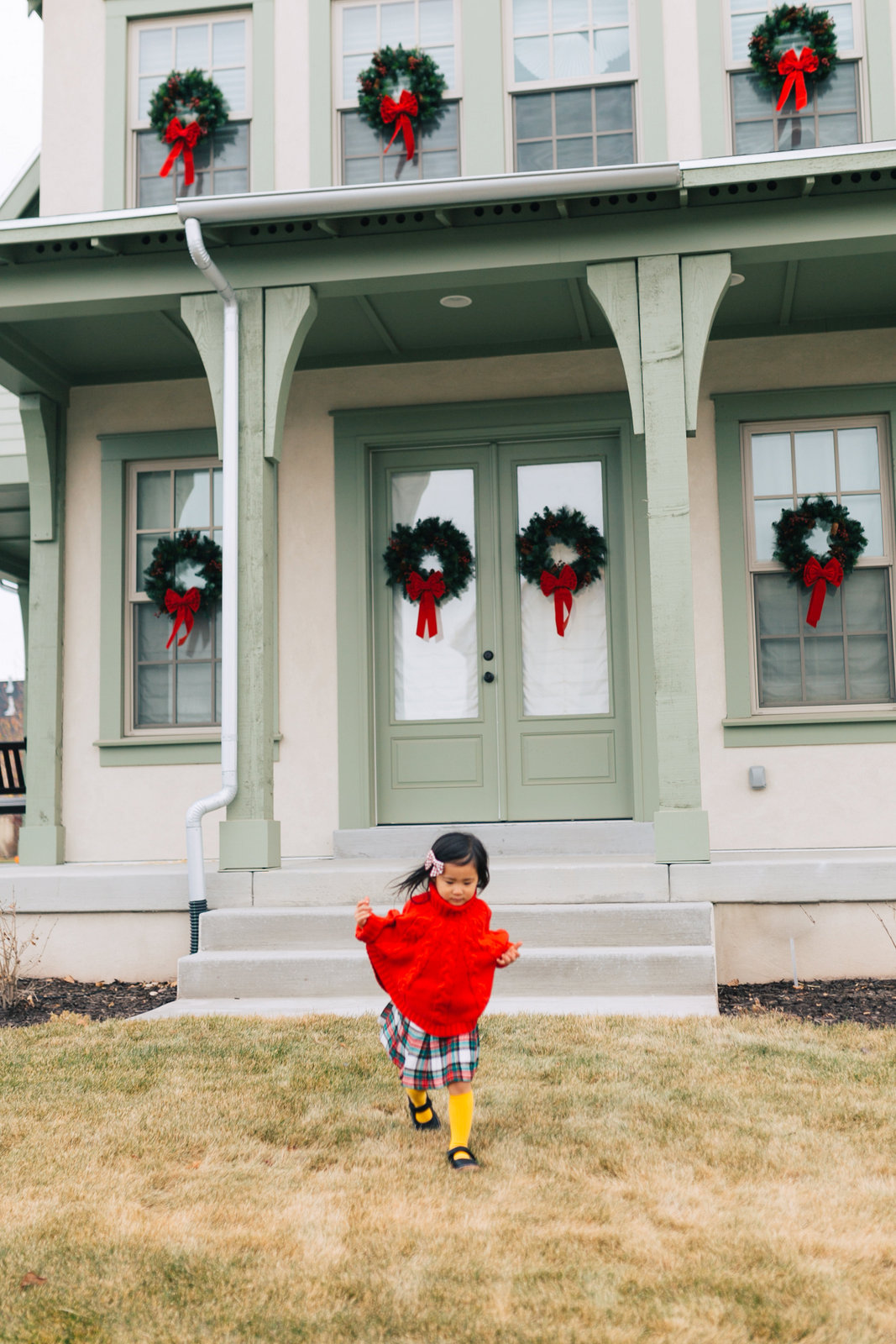 Little Girls Holiday Outfit by Utah fashion blogger Sandy A La Mode