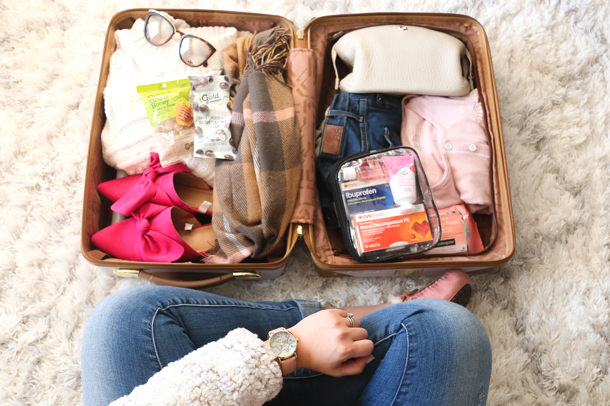 5 Essentials for Holiday Travel by Utah lifestyle blogger Sandy A La Mode