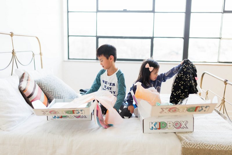 Shopping for Kids Made Simple with Kidbox by popular Utah style blogger Sandy A La Mode