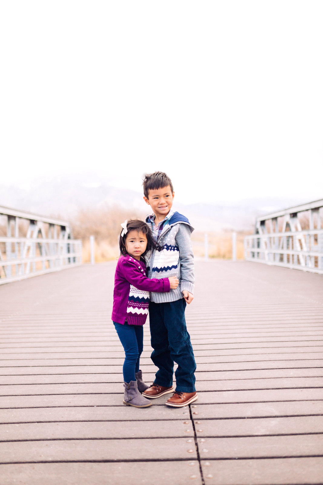 Fair Isle Sweater for Kids by Utah style blogger Sandy A La Mode