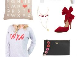 The Valentines Day Fashion Edit: Everything Pink and Red by popular Utah style blogger Sandy A La Mode