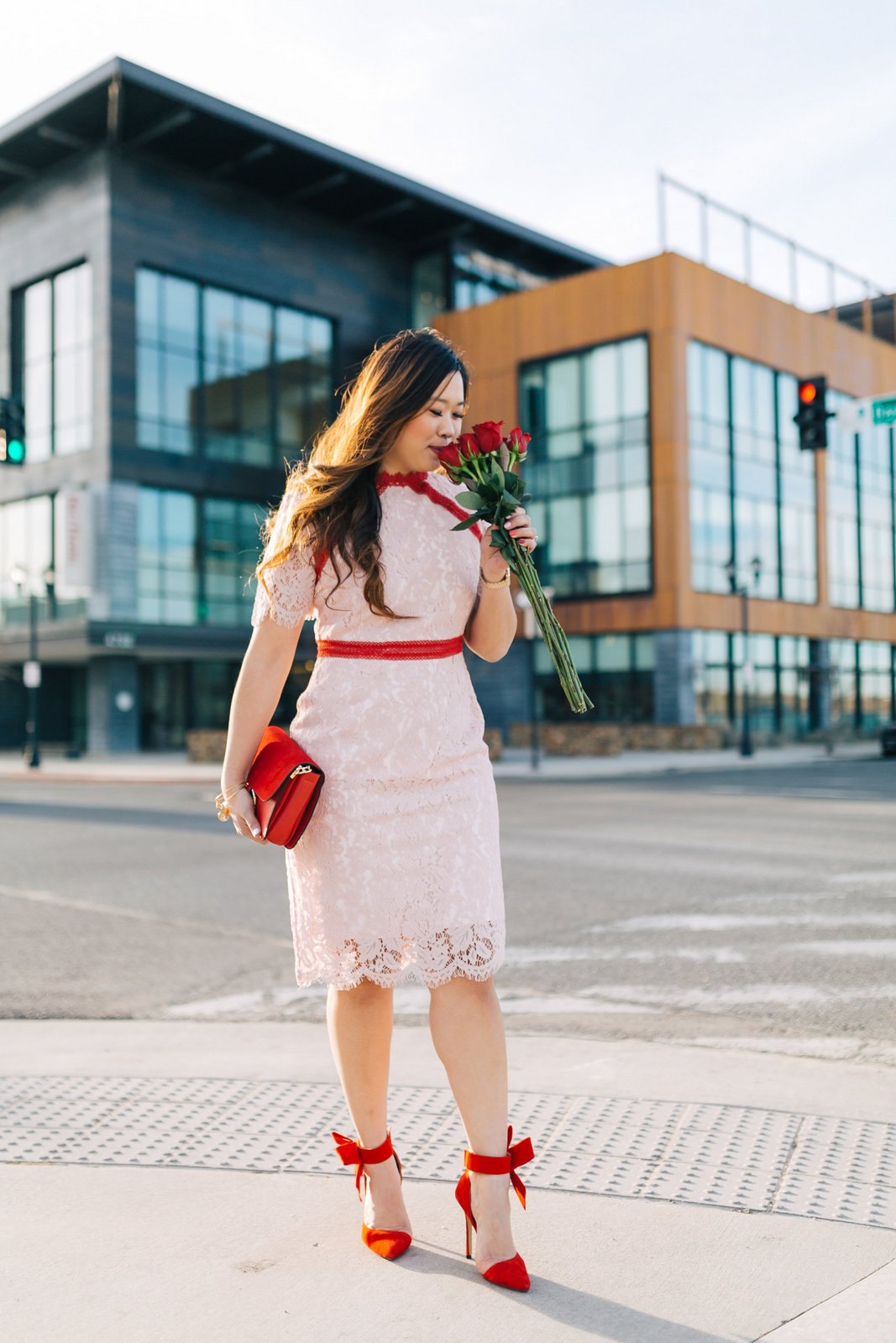 3 Casual to Dressy Valentines Day Outfits by popular Utah fashion blogger Sandy A La Mode