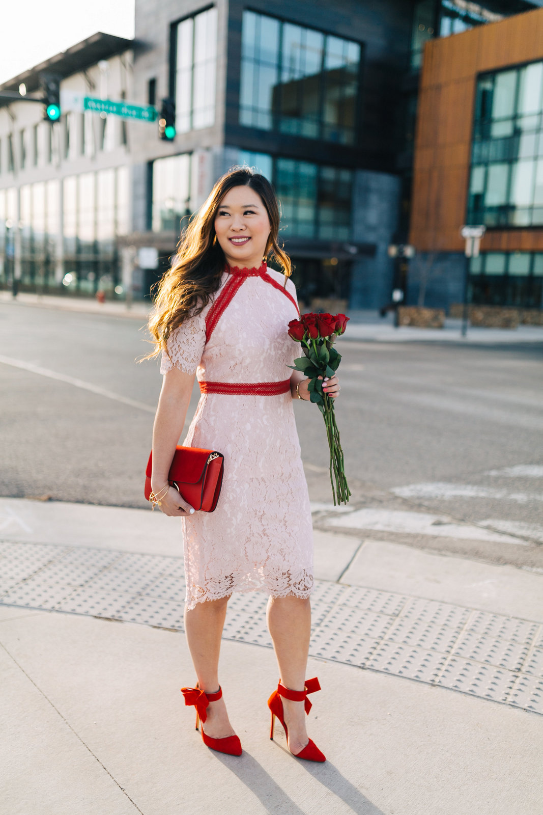 3 casual to dressy valentines day outfits  fashion