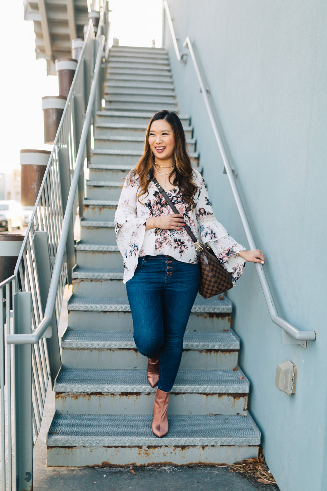 6599ec6ba8 3 Casual to Dressy Valentines Day Outfits by popular Utah fashion blogger  Sandy A La Mode ...