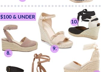 Must Have Espadrille Wedge Sandals For Spring & Summer