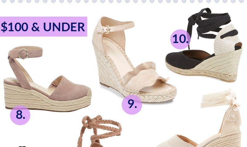 Must Have Espadrille Wedge Sandals For Spring & Summer