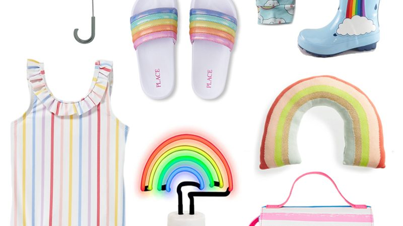 The Cutest Rainbow Clothing and Accessories For Kids