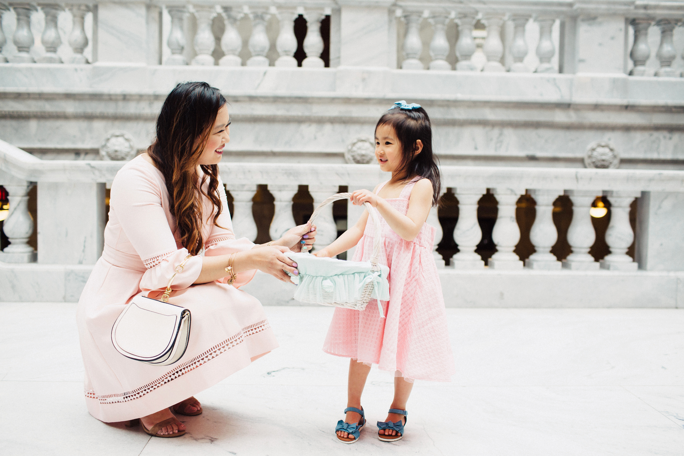 Easter dresses for girls - Affordable Easter Outfits For Girls by popular Utah fashion blogger Sandy A La Mode