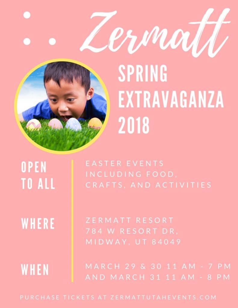 Zermatt Spring Extravaganza in Midway, UT by popular Utah blogger Sandy A La Mode