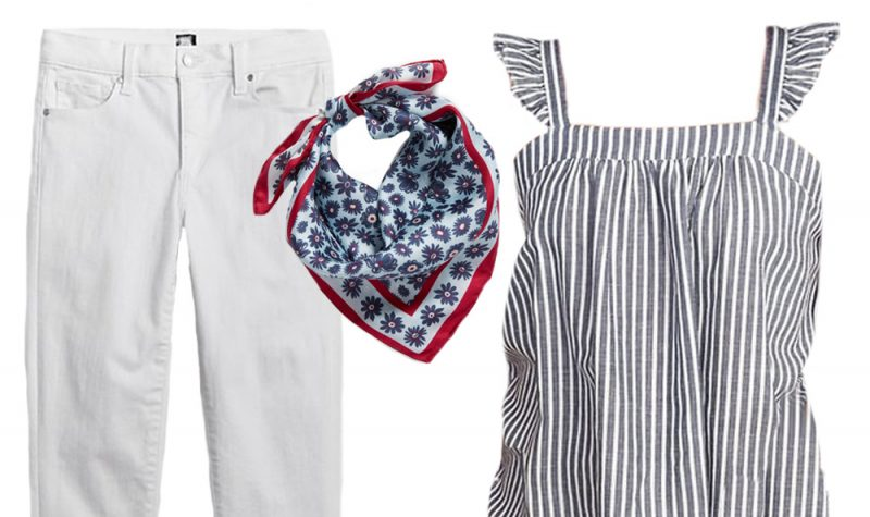 Red, White and Blue Outfit Inspiration: What To Wear For Morning Parades, Backyard BBQ and More!