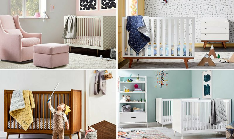 West Elm x Pottery Barn Kids: A Mid-Century Modern Nursery Collection