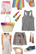 Stylish Rainbow Finds for Women – Sandy a la Mode