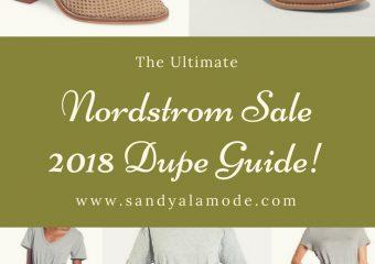 Nordstrom Sale 2018 Dupes